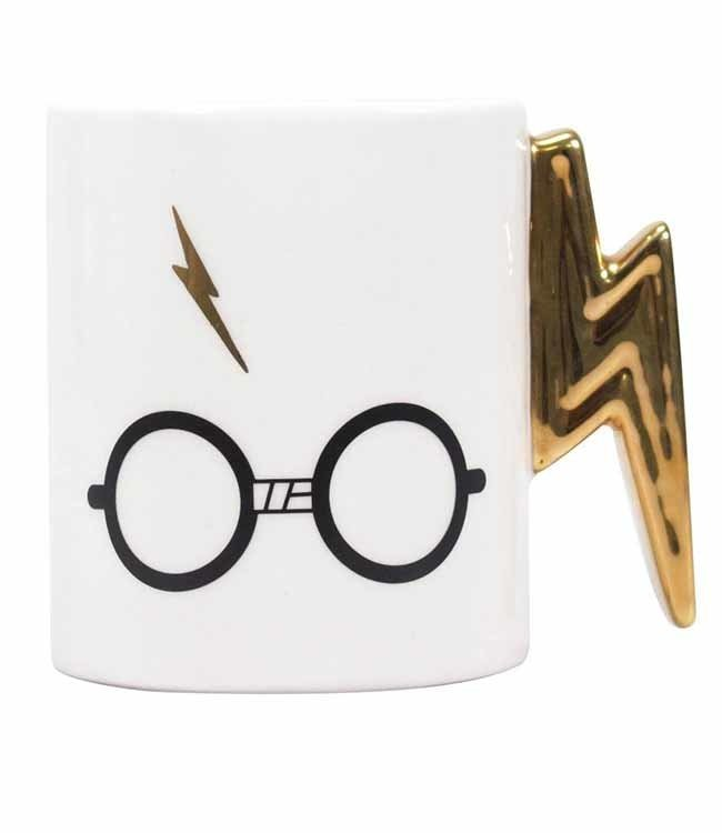 Half Moon Bay Harry Potter   Glasses & Scar (Shaped) Tasse