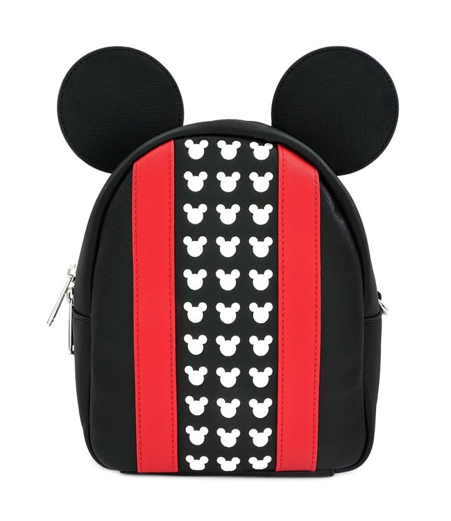 Loungefly Loungefly Disney | Mickey Mouse (Black & Red) Mini Rucksack