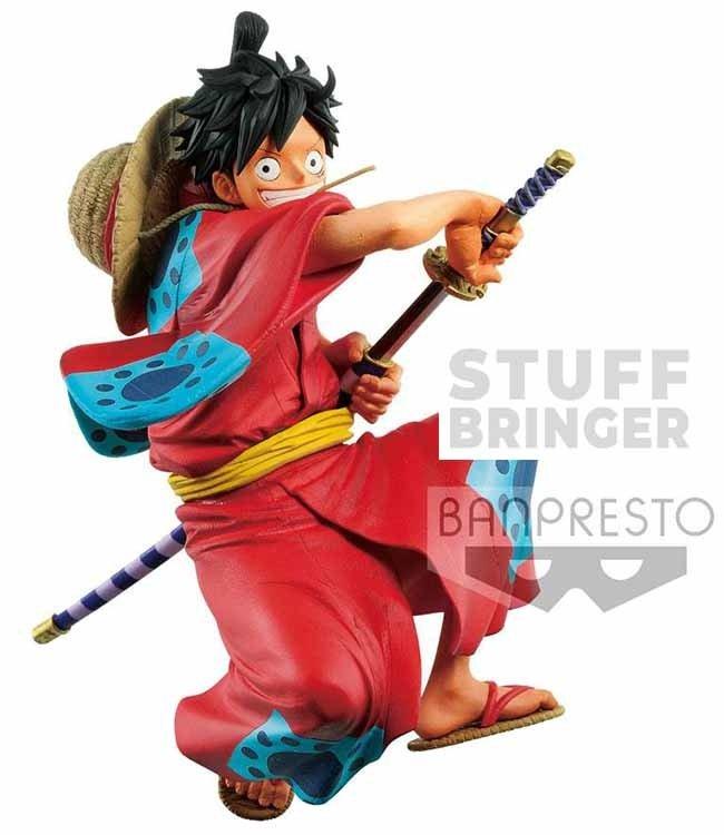 Banpresto Banpresto One Piece | Monkey D. Ruffy (King of Artist) Statue