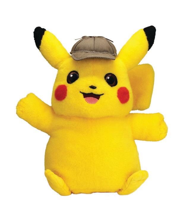Pokémon Pokemon | Meisterdetektiv Pikachu Plüschfigur mit Sound
