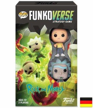 Funko Funkoverse   Rick and Morty (Expandalone) Brettspiel