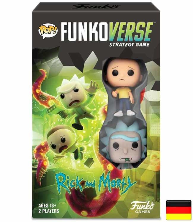 Funko Funkoverse | Rick and Morty (Expandalone) Brettspiel