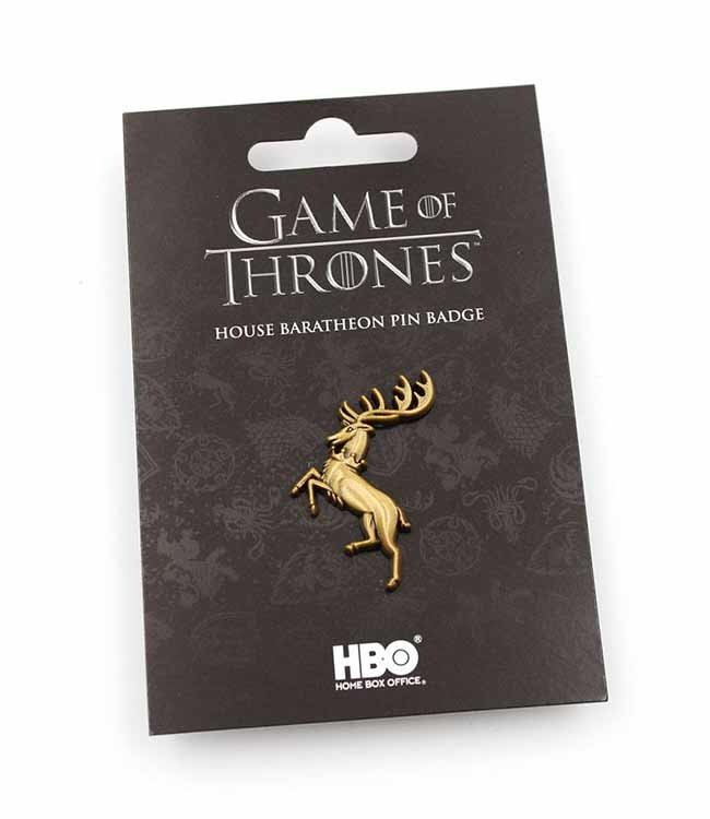 Game of Thrones Game of Thrones   Haus Baratheon Ansteck-Pin