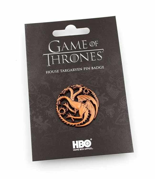 Game of Thrones Game of Thrones   Haus Targaryen Ansteck-Pin