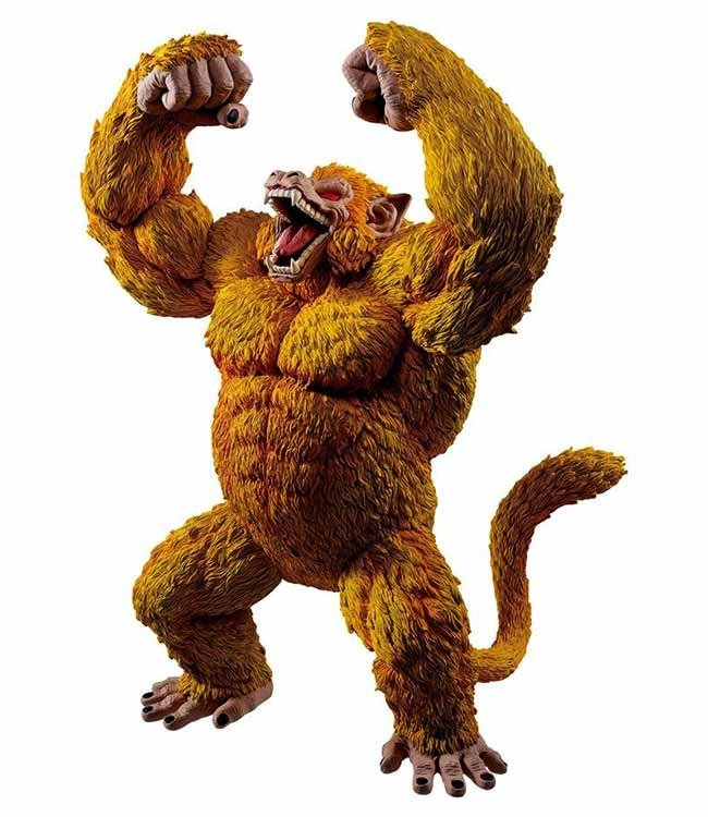 Banpresto Bandai Dragonball | Golden Great Ape Statue