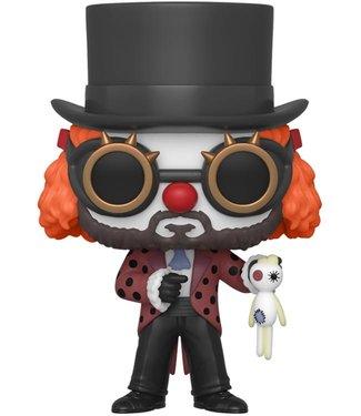 Funko Haus des Geldes | The Professor (Clown) Funko Pop Vinyl Figur