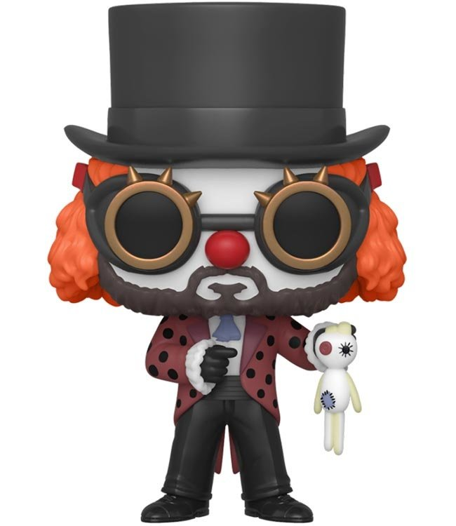 Funko Haus des Geldes | The Professor (Clown) Funko Pop Vinyl Figur