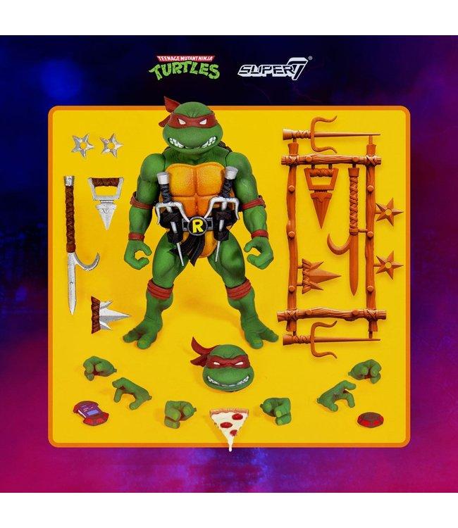 Super7 Turtles | Raphael Ultimates Actionfigur