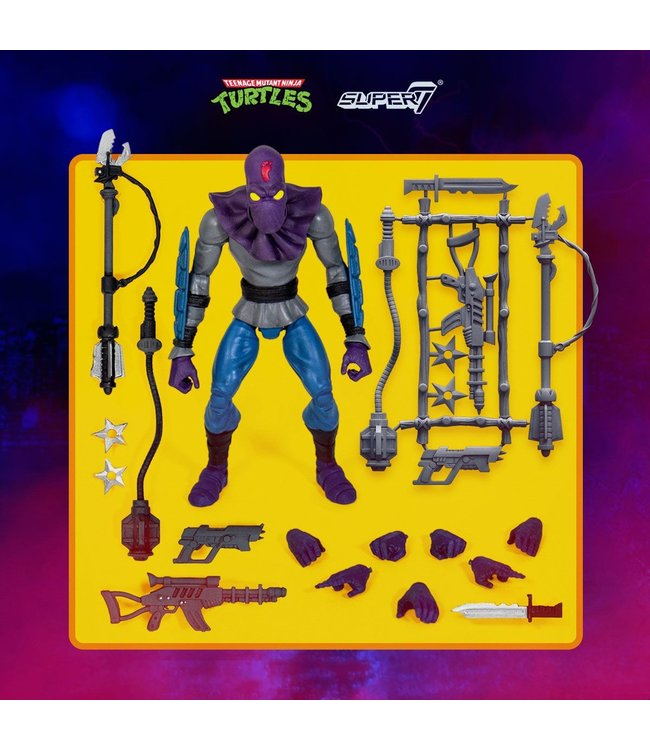 Super7 Turtles | Foot Soldier Ultimates Actionfigur
