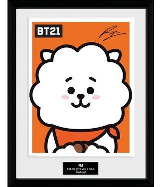 BT21 | RJ Poster im Rahmen