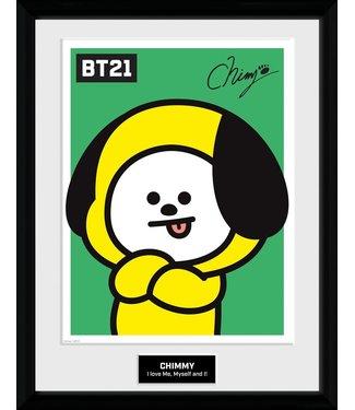 BT21 | Chimmy Poster im Rahmen