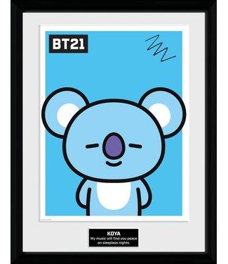 BT21 | Koya Poster im Rahmen