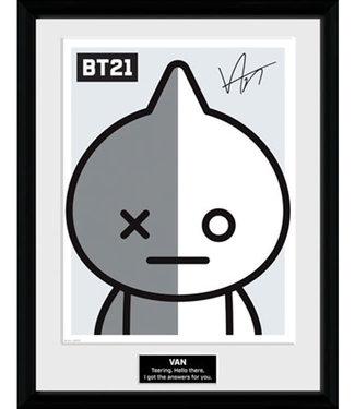 BT21 | Van Poster im Rahmen