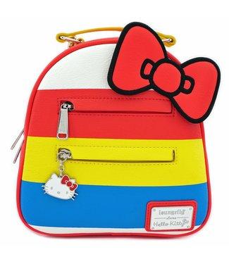 Loungefly Loungefly Hello Kitty | Anniversary (Stripes) Mini Rucksack