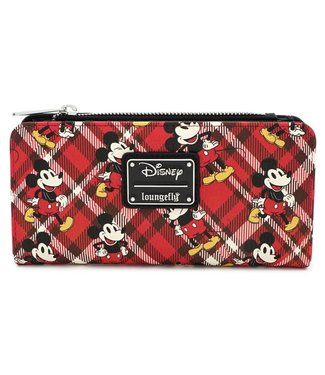 Loungefly Loungefly Disney | Mickey Mouse (Kariert) Geldbeutel