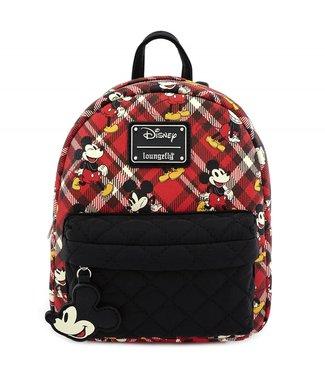 Loungefly Loungefly Disney | Mickey Mouse (Kariert) Mini Rucksack