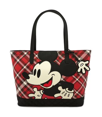 Loungefly Loungefly Disney | Mickey Mouse (Kariert) Tragetasche