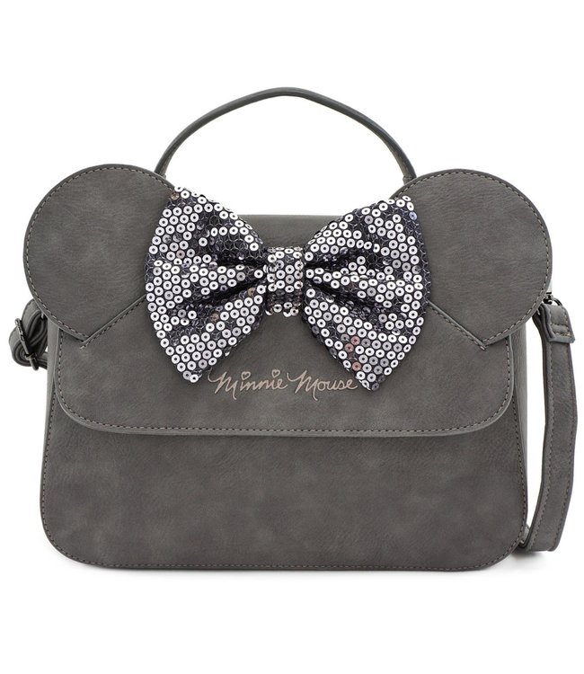 Loungefly Loungefly Disney | Minnie Mouse (Grey) Crossbody Bag