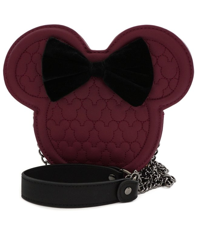 Loungefly Loungefly Disney | Minnie Mouse (Maroon) Crossbody Bag