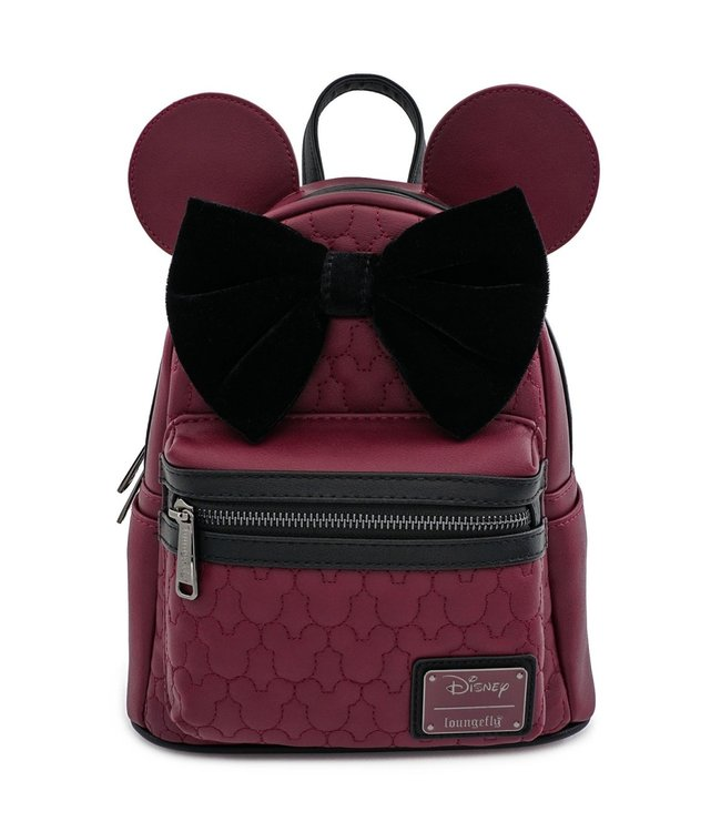 Loungefly Loungefly Disney | Minnie Mouse (Maroon) Mini Rucksack