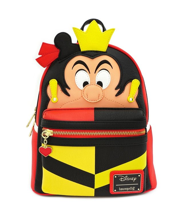 Loungefly Loungefly Disney | Queen of Hearts Mini Rucksack