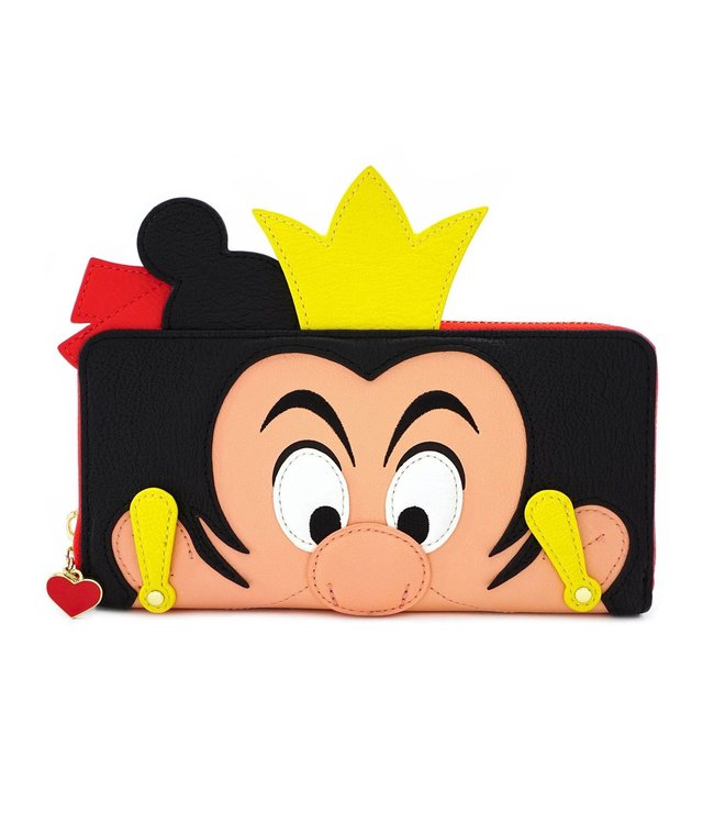 Loungefly Loungefly Disney | Queen of Hearts Geldbeutel