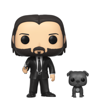 Funko POP & Buddy | John Wick w/ Dog Funko Pop Vinyl Figur