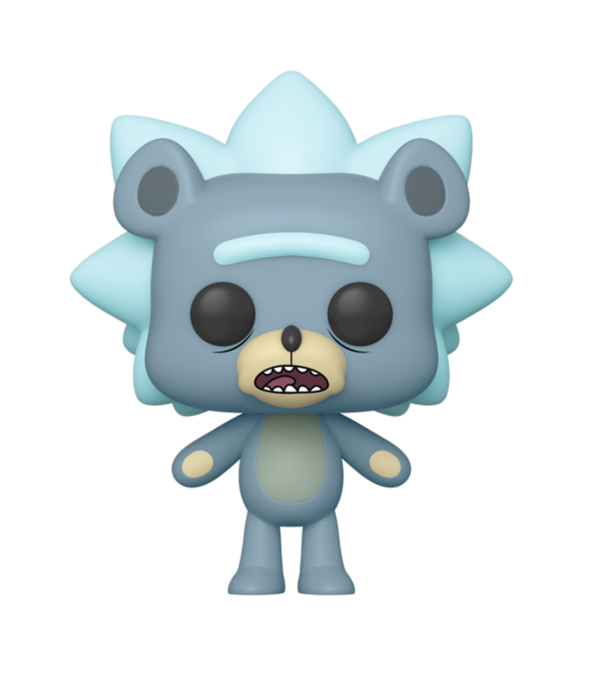 Funko Rick and Morty | Teddy Rick Funko Pop Vinyl Figur (Chase Chance)