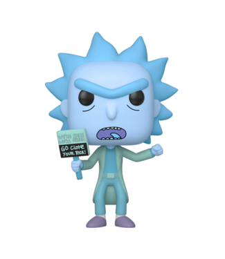 Funko Rick and Morty | Hologram Rick Clone Funko Pop Vinyl Figur