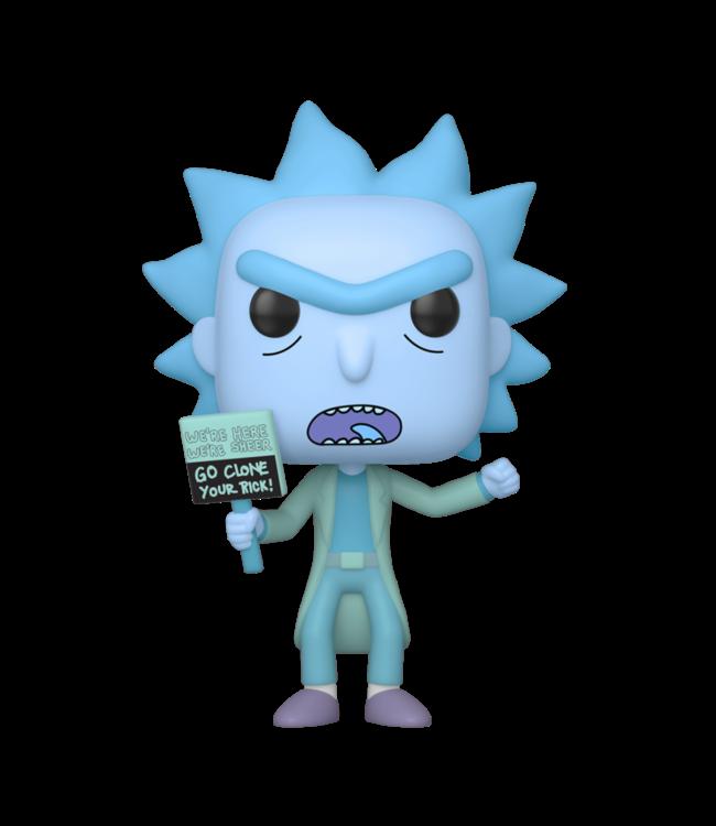 Funko Rick and Morty | Hologram Rick Clone Funko Pop Vinyl Figur