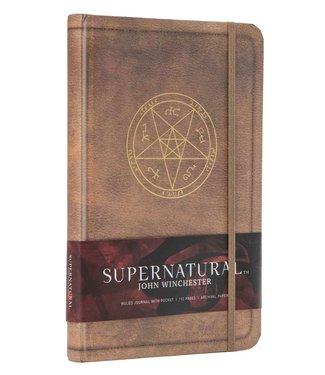 Supernatural Supernatural | John Winchester Notizbuch