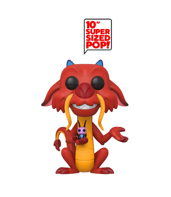 Funko Disney | Mushu 10'' Funko Pop Vinyl Figur
