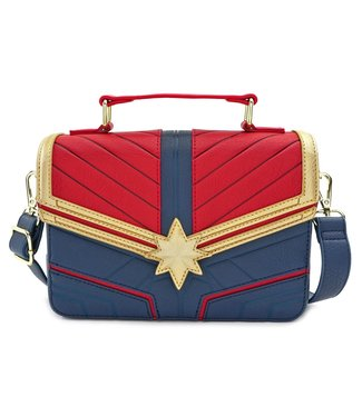 Loungefly Loungefly Marvel | Captain Marvel Crossbody Bag