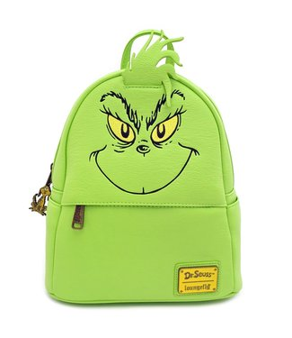 Loungefly Loungefly   The Grinch Mini Rucksack