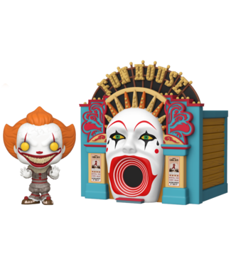 Funko IT: Chapter 2 | Demonic Pennywise (Funhouse) Funko Pop Town Figur