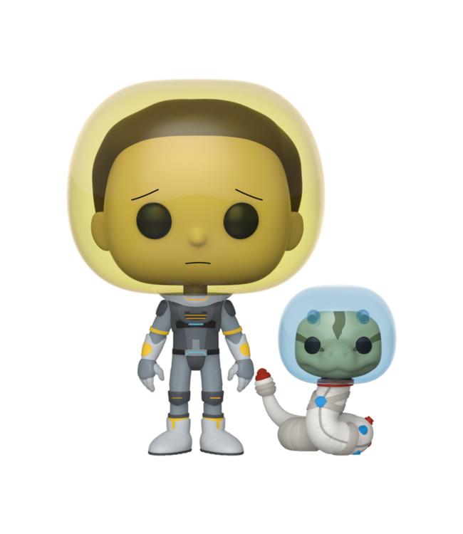 Funko Rick and Morty | Space Suit Morty Funko Pop Vinyl Figur