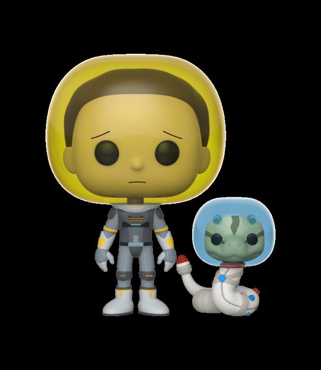 Funko Rick and Morty | Space Suit Morty Funko Pop Vinyl Figur