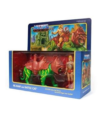 Super7 Vorbestellung | Masters of the Universe He-Man & Battlecat Actionfiguren Doppelpack