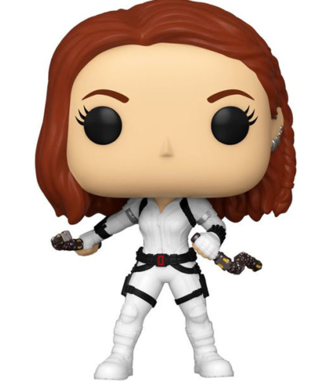 Funko Vorbestellung | Marvel - Black Widow (White Suit) Funko Pop Figur