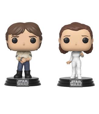 Funko Vorbestellung   Star Wars - Han & Leia Funko Pop Figur (2-Pack)