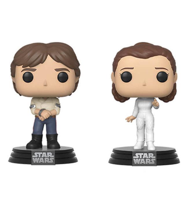 Funko Vorbestellung | Star Wars - Han & Leia Funko Pop Figur (2-Pack)
