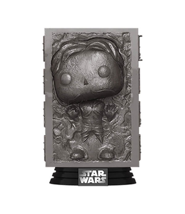 Funko Vorbestellung | Star Wars - Han Solo (Carbonite) Funko Pop Figur