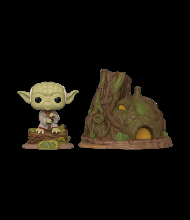 Funko Vorbestellung | Star Wars - Yoda's Hut Funko Pop Town Figur