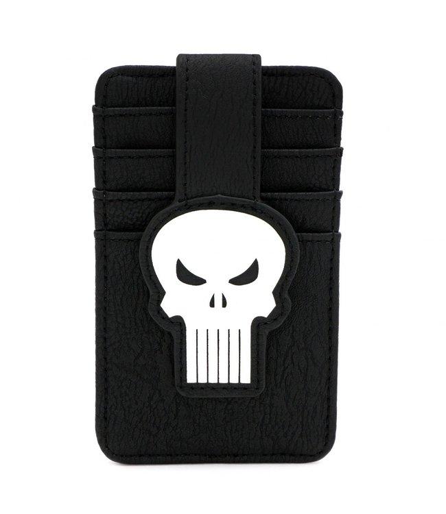 Loungefly Loungefly Marvel | Punisher (Skull) Kartenetui