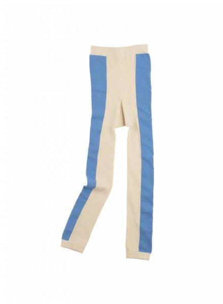 Tiny Cottons Long line leggings - stone/cerulean blue