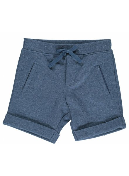 MarMar Copenhagen Boys Light Sweat Shorts Pascal - Petrol Blue Melange