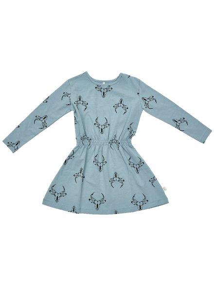 IGLO + INDI Blue Gasella Dress