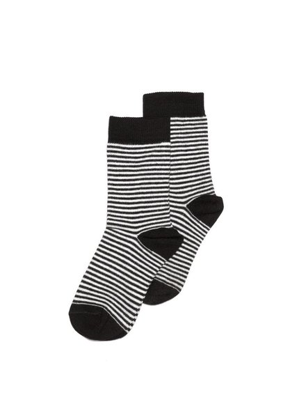 MINGO Sock stripes black