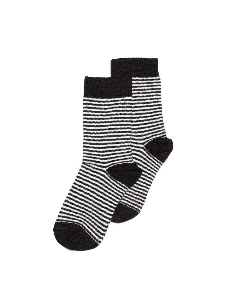 MINGO Sock stripes black