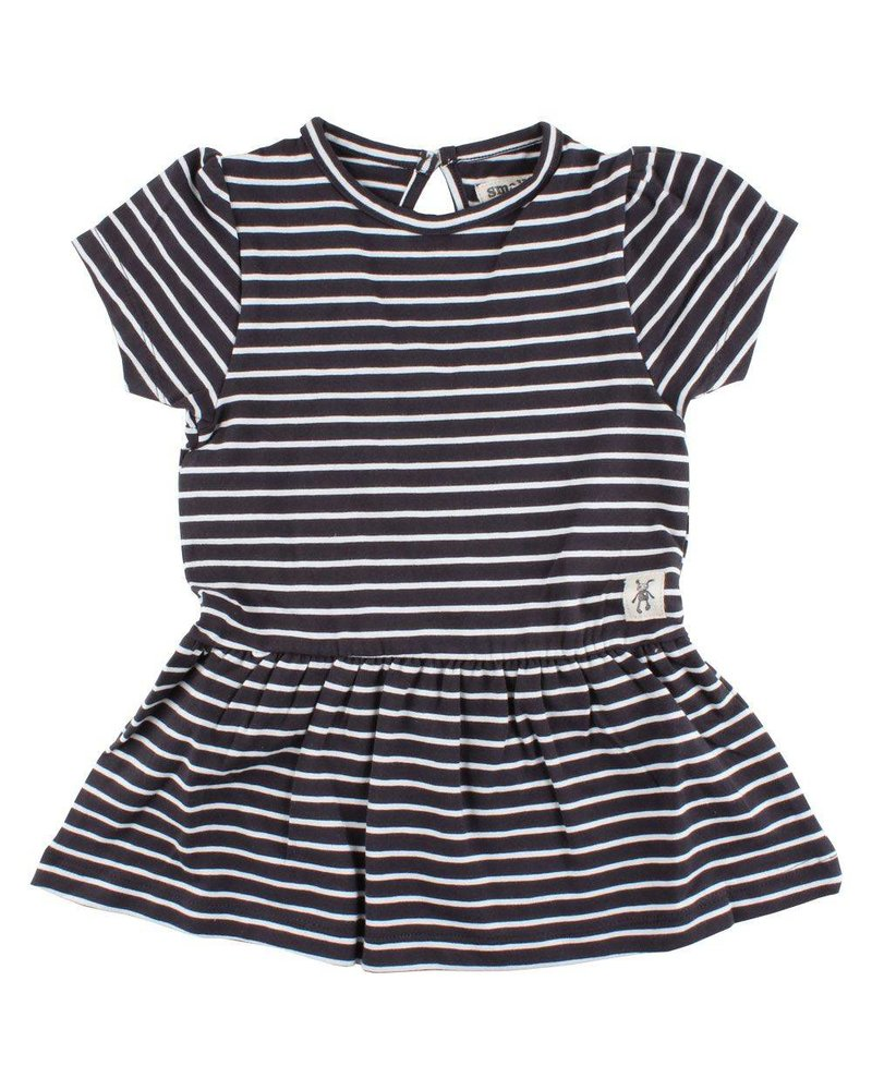 Small Rags Grace Dress Vaporous Gray